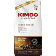 Kimbo EXTRA CREAM - 1000g en grains » Expresso